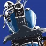 harley-davidson heritage softail springer - photographisme - format 800 x 600
