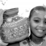 jeune fille tamoul - balance coco - Saint-Louis - La Réunion