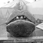 le bisou de Dumbo - cirque Muller - Trouville