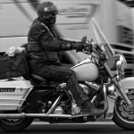 old chaps - road king police on wheels - harley-davidson
