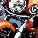 harley davidson ultra classic - photographisme - format 1500 x 1000